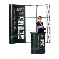 Magnetic Pop Up Display Stands