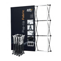 Tension Fabric Pop Up Display Stands