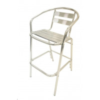 Aluminium Tall Bar Chairs