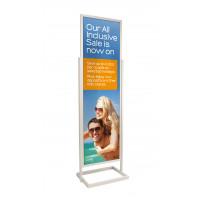 Silver Poster Pillar