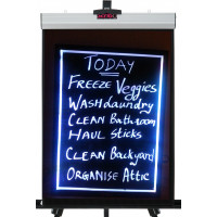 Frameless LED Chalkboards