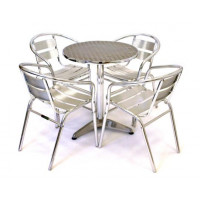 Standard Aluminium Table & Chair Set