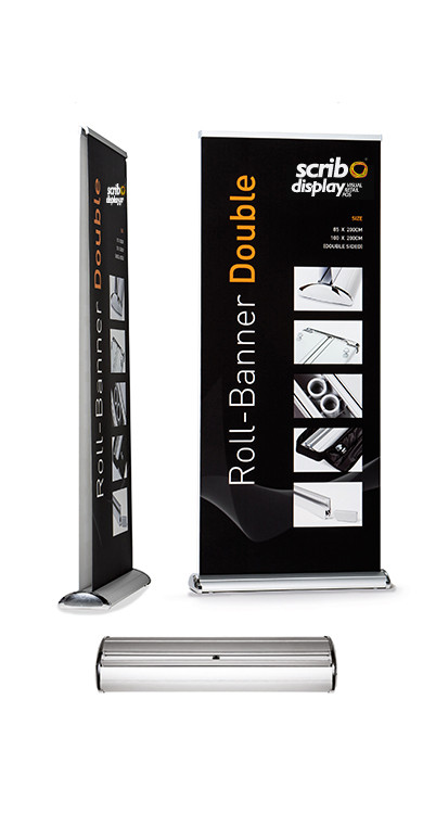 Double Roller Banners (Pack of 3)